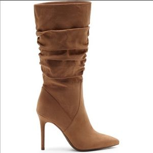 Jessica Simpson wide calf pointed heel boots